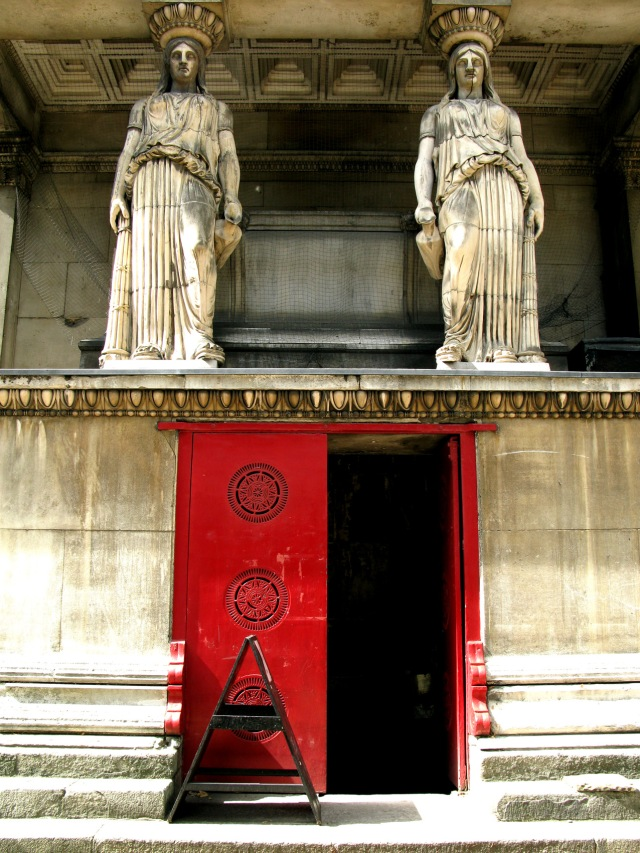 Entrance to the Crypt of St Pancras Church, London